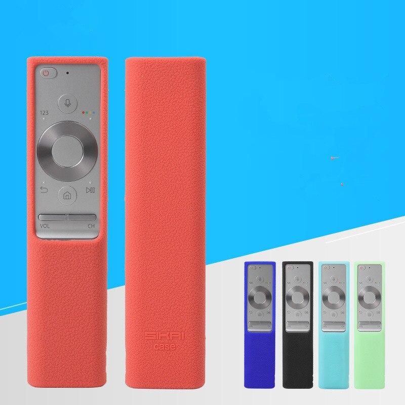1 pc caso de silicone para samsung smartone smart tv controle remoto capa para samsung BN59-01265A BN59-01274A tv caso remoto