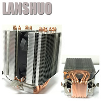 LANSHUO AMD Intel CPU Processor Cooling Fan Cooler Fan Heat Sink Fan Processor Cooling Fans 775