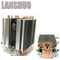 LANSHUO AMD Intel CPU Processor Cooling Fan Cooler Fan Heat Sink Fan Processor Cooling Fans 775