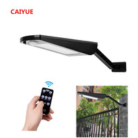 newest 66 Led Solar Lamp Garden 1000LM Outdoor Waterproof Wall Light Two Angles Rotable Pole Solar Light With motion three Mode