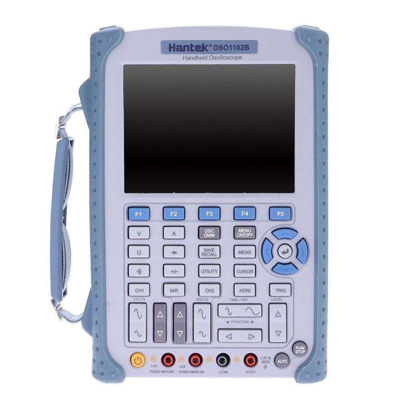 купить Hantek DSO1102B Portable Handheld strong Digital Oscilloscope /Multimeter 100MHz Bandwidth 2 Channel Factory direct sales по цене 29606.11 рублей
