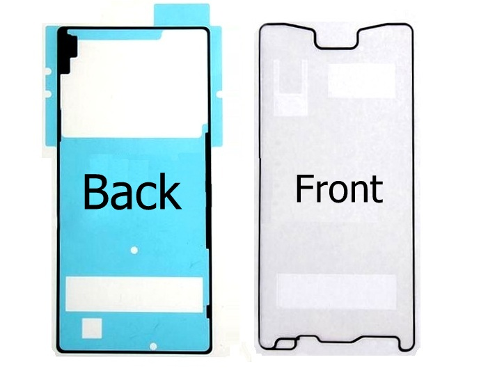 Lcd Digitizer Back Door Housing Cover Adhesive Tape For Sony Xperia Z4 Z3+ Plus E6553 E6533