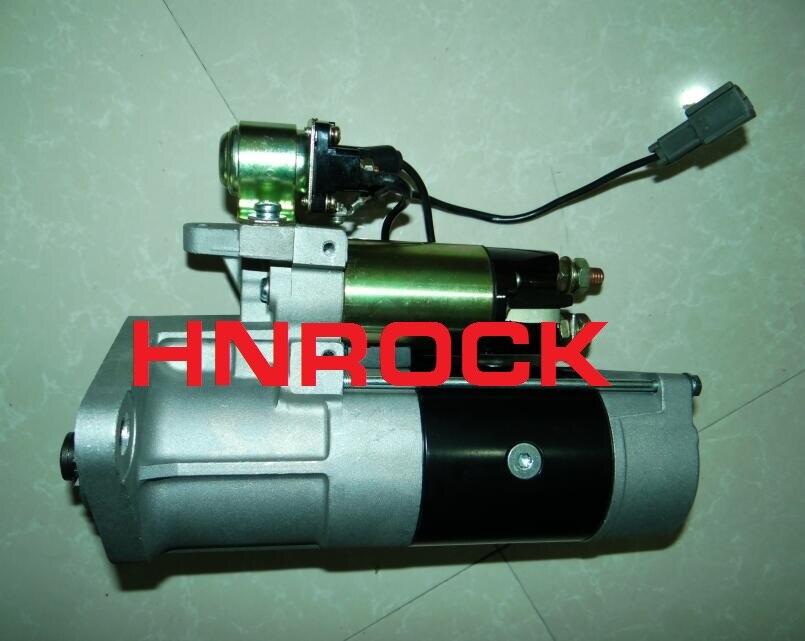 Motor de arranque para mitsubishi fuso médio caminhões pesados fe fg série 3.9l 4d34-2at motor, m008t55073 m8t55073 me215097