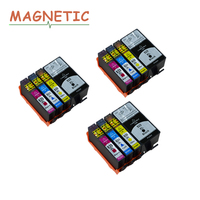 12pcs Magnetic Compatible Ink Cartridge For HP 920 Officejet 6000 6500 6500 Wireless 6500A 7000 7500A printe for hp920 XL 920XL