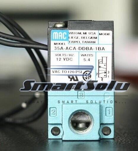 все цены на  Free shipping MAC type DC 12V Drip molding machine High Frequency Valve; Model 35A-ACA-DDBA-1BA (35AACADDBA1BA)  онлайн