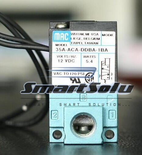 Free shipping MAC type DC 12V Drip molding machine High Frequency Valve; Model 35A-ACA-DDBA-1BA (35AACADDBA1BA)