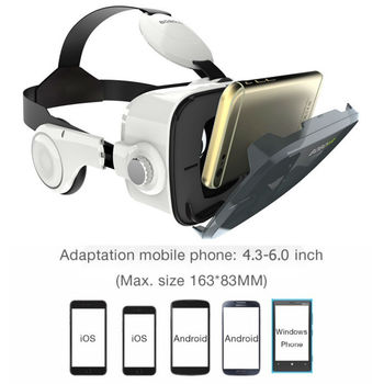 BOBOVR Z4 mini VR Box 2.0 3d glasses Virtual Reality goggles Google cardboard bobo vr z4 vr headset for 4.3-6.0 inch smartphones 1