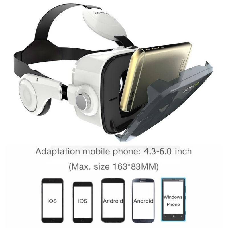 BOBOVR Z4 VR Box 2.0 3d Glasses Virtual Reality Goggles Google Cardboard Bobo Vr Z4 Vr Headset For 4.3-6.0 Inch Smartphones