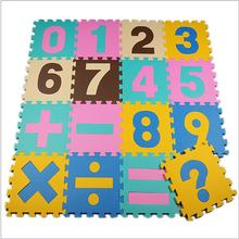 Hot sale 1KG New Baby game pad Number Alphabet Puzzle Foam Floor Play Mats Toy For Children Kids Maths Educational Toy Gift(China)