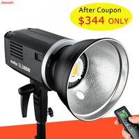 Godox SLB60W 60W 5600K White Version Lithium Battery Outdoors Portable Continuous Studio Lamp LED Video Light CD50 T03