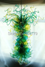 Factory Price Beautiful Hand Blown Glass Chandelier 110v