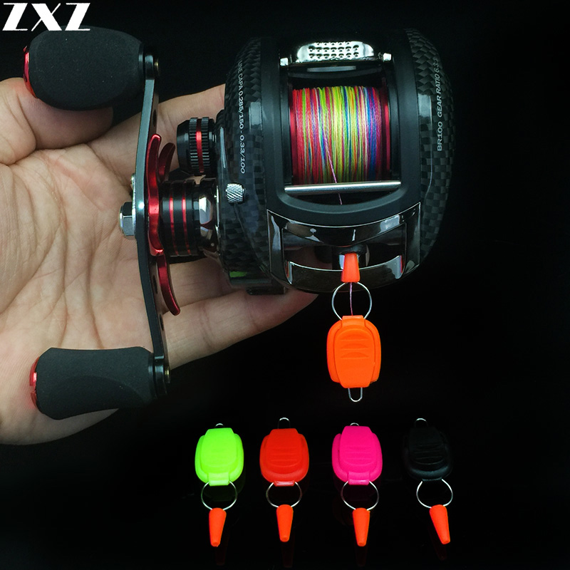 10pcs Updated Baitcasting Reel Fishing Line Holder Buckle Stopper Keeper Clip Fish Accessories Stop Buckle Lightweight Outdoor