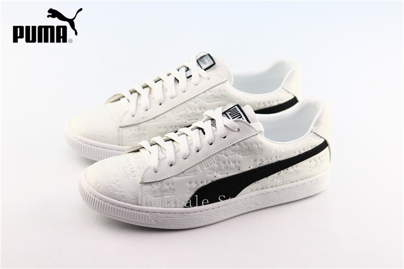 5eb6c68cf41c79 PUMA X Panini Suede Men Women Sports Sneakers 50th Anniversary Edition  Panini Authentic Leather Lace Up