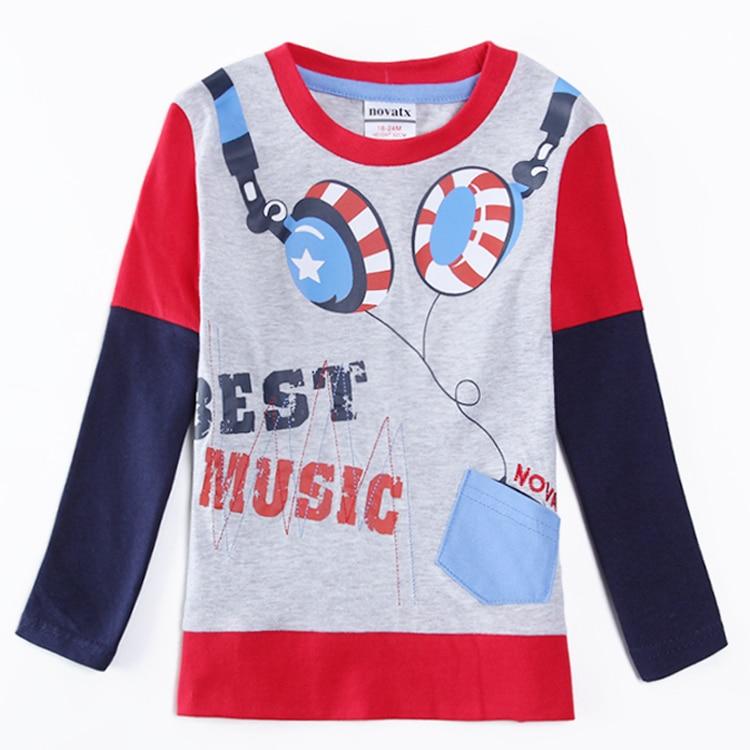 2016 Nova kids clothes hot selling retail t shirt is
