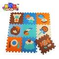 Free shipment soft eva puzzle mat baby play carpet puzzleanimal cartoon eva foam play mat,pad floor for kids games rugs SGS