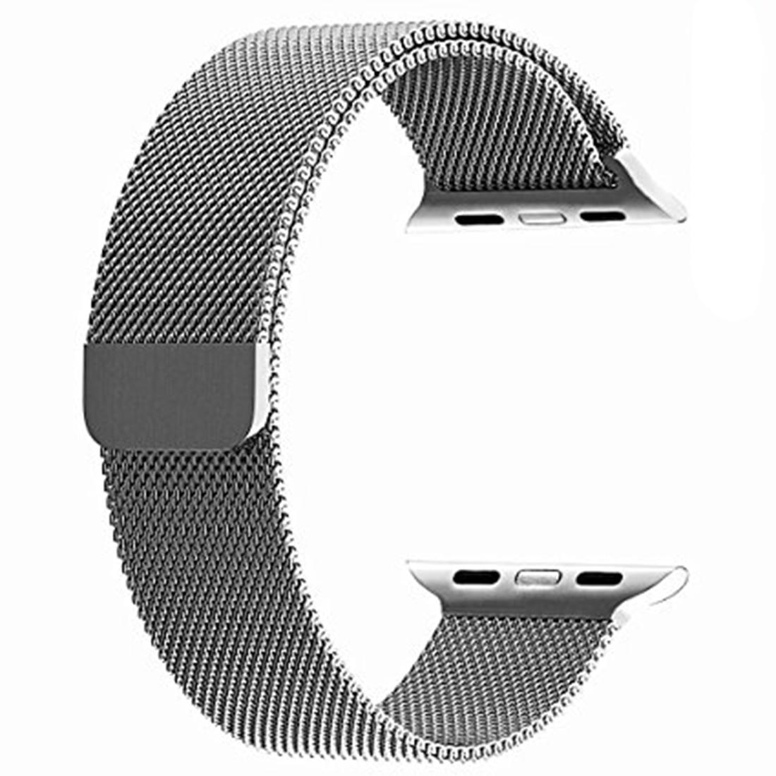 все цены на New Watchband 38mm 42mm Universal Watch Bands 316l Stainless Steel Metal Watch Band Fossil Strap Bracelet Black Rose Gold Silver онлайн