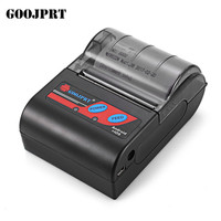 GOOJPRT MTP II 58mm Portablle Android Bluetooth Thermal Printer Receipt Printer For Mobile POS Printer Bluetooth