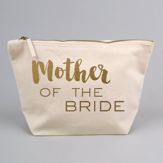 Mother of the Bride or Groom makeup toiletry kits bridesmaid wedding ...