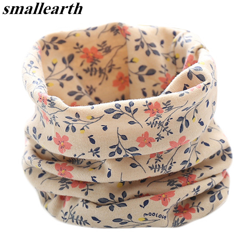 Spring Autumn Children's Cotton Scarf Baby Kids Scarf Winter Boys Girls Cartoon Scarves Child Collar O Ring Magic Neckerchief