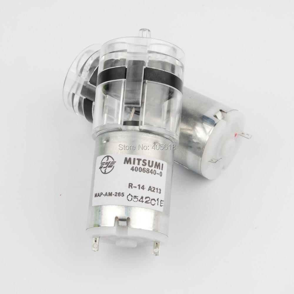 Neue 1 stücke Mitsumi R-14 A213 370 DC pumpe 6 V 200mA sauerstoffpumpe tank blutdruckmessgerät aquarium sauerstoff spülen pumpe geräuscharm