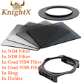 KnightX Graduated Neutral Density ND camera color filter Kit for Cokin P for Nikon Canon Digital Camera Lenses 49 52MM 55MM 82MM