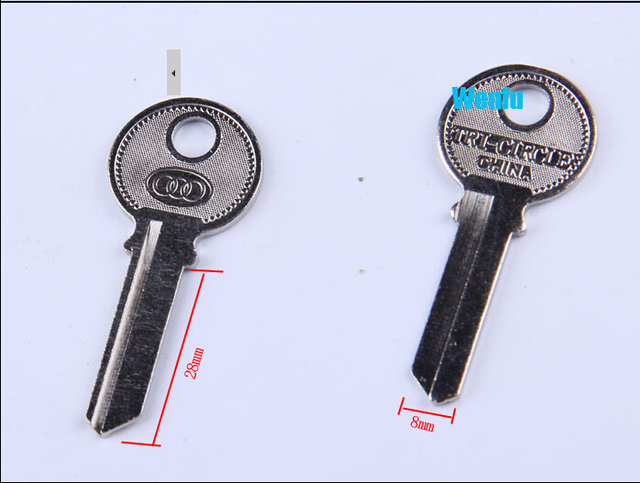 US $7 9 |F 050 Blank key big right side tri circle blank key oreign trade  key -in Locksmith Supplies from Tools on Aliexpress com | Alibaba Group