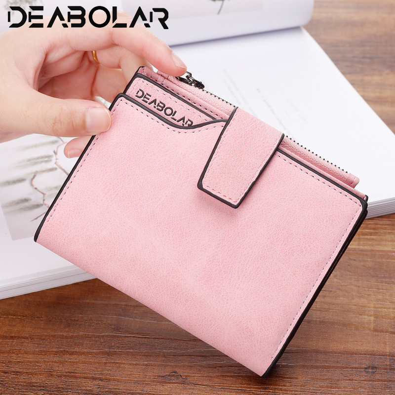 New Women Short Wallets Solid Vintage Matte Nubuck PU Female Fashion Zipper Wallet Coin bag Credit Card Holder More Color платье indiano natural indiano natural in012ewrfo51 page 2