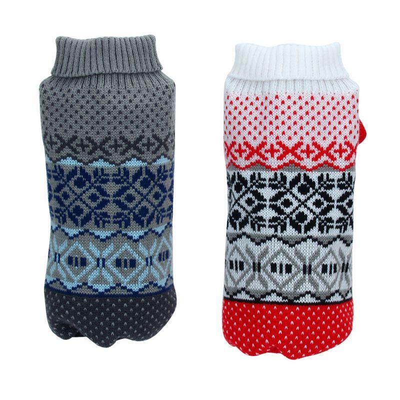 ₩Perros capa del suéter del animal doméstico ropa pequeño perrito ...