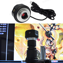 Big discount 5MP USB Camera Digital Microscope Electronic Eyepiece CMOS Industrial Eyepiece for Biological or Stereo Microscope Image Capture