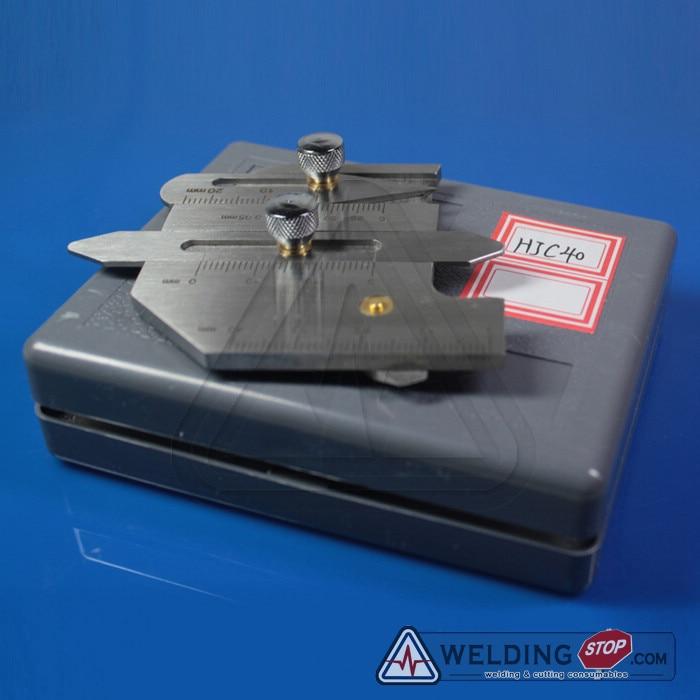 HJC-40 Welding Seam gauge Bead Gage Weld pit test ulnar inspection ruler  цены