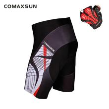 COMAXSUN Men's Cycling Shorts 3D Gel Padded Bike/Bicycle Outdoor Sports Tight S-3XL 9 Style цена 2017