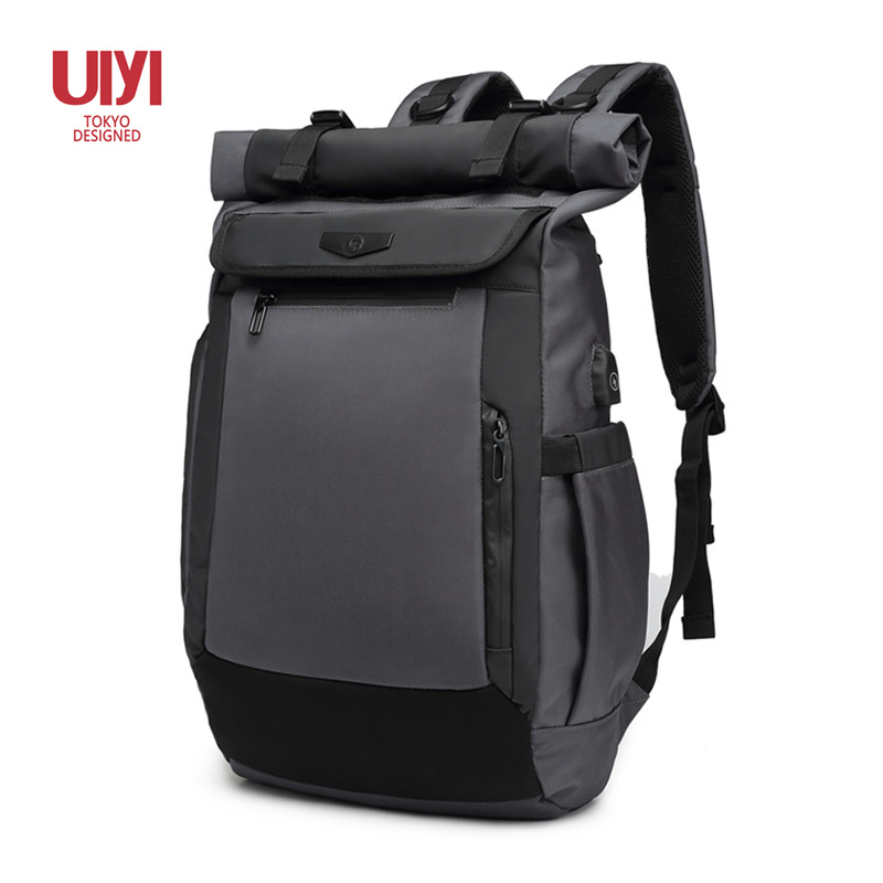 Men Backpack Polyester USB charging trend Male Travel bag Backpacks fashion men student bag mochil laptop