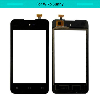 20pcs/lot Touch for Wiko Sunny Touch Screen Glass Digitizer Touch Panel Replacement Free Shipping