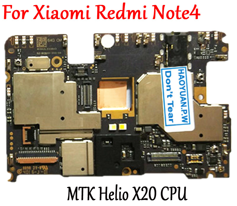 Tested Full Work Original Unlock Motherboard For Xiaomi