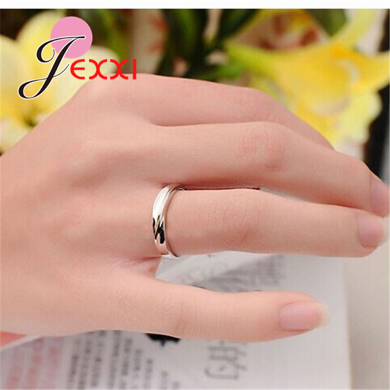 925 Sterling Silver Couple Rings Fashion Jewelry Classical Rings Adjustable Sizes  Wholesale Separate Men and Women !!! 1