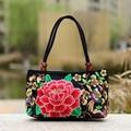 Spain Fashion Embroidered Flower National Wind Women Handbags Bolsos Desigues Bag Embroidery Handbags sac a main femme de marque