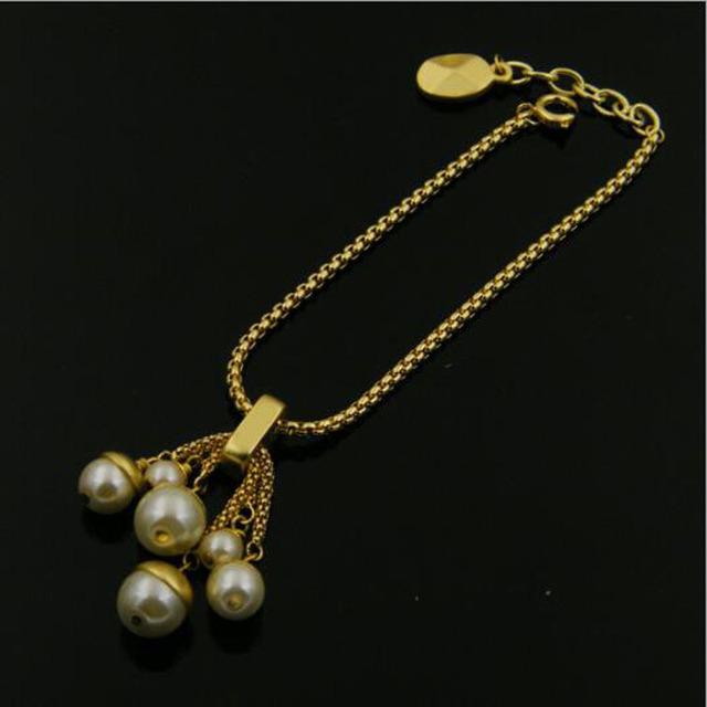Famosa Marca de Joyería de lujo Cadena de Oro Pulseras para Las Mujeres Pulseira Feminina Femme Chakra Pulsera Pulseras Mujer