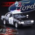 Coche de policía Ford serie 1:36 KiNSMART 5 pulgadas coche de juguete para niños tire hacia atrás de SWAT F150 crown Victoria Chevrolet Camaro Mustang GT regalo