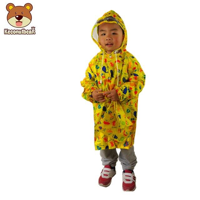 Коллекция 2018 года, Модный Плащ для малышей с изображением желтой королевы и граффити непромокаемый плащ для маленьких мальчиков и девочек дождевик с рисунком космонавта для детей