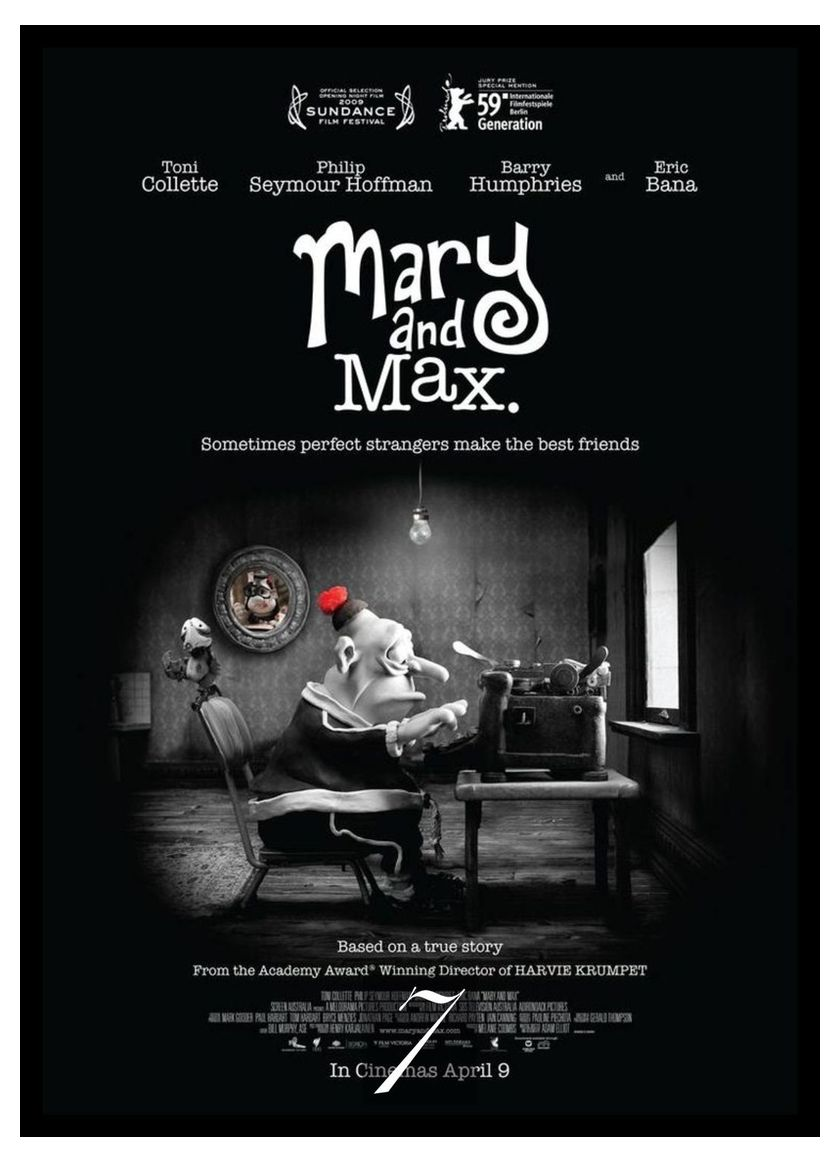 Mary And Max Movie Home Decorative Painting White Kraft Paper Poster 42x30cm Painting Calligraphy Aliexpress