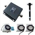 850/1700 MHz Home GSM Reforço de Sinal Repetidor 3G Moblie 4G LTE Amplificador De Potência com 3 Antenas frete grátis