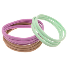 12pcs Nylon Headband Elastic Hairband 1CM Width Vintage Head Wrap Boutique Band Accessories Headwear Fashion Hair Accessories