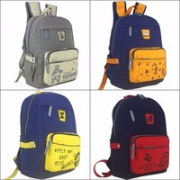 Anime One Piece Tokyo Ghoul Fairy Tail NARUTO Totoro Canvas Backpack Student Bookbag Computer Shoulder Bag