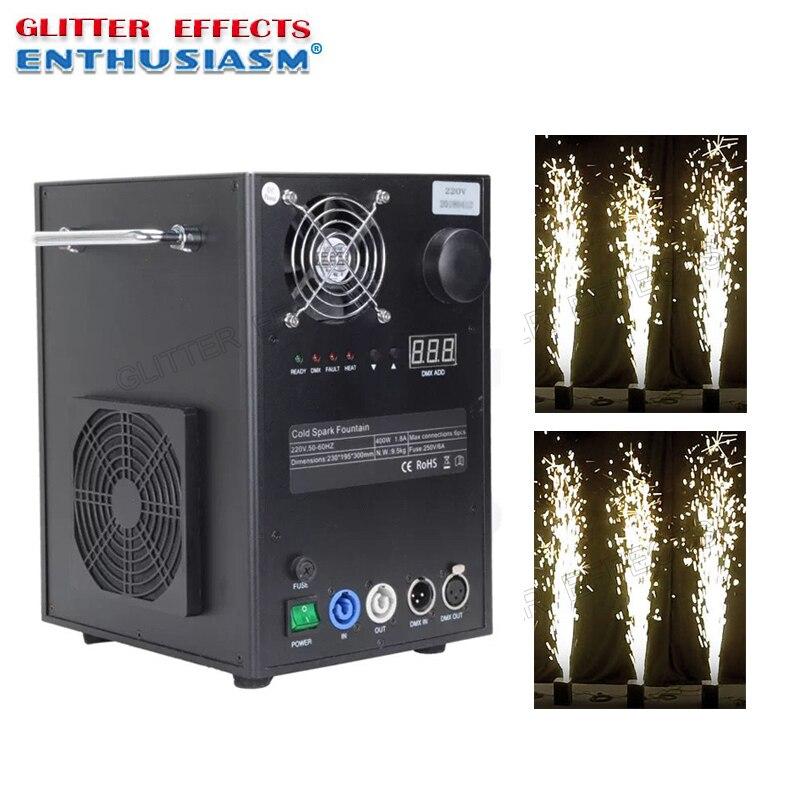 Machine froide de fontaine d'étincelle d'étape de contrôle de dmx pour la noce