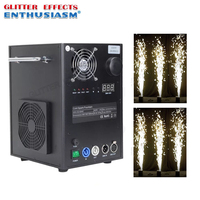 dmx control stage cold spark fountain machine for wedding party