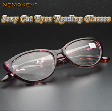 133f5bb75e8 nomanov 2018 Hand Made Frame Sexy Cat Eyes Small Ladies Women Reading  Glasses 0.75