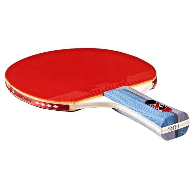 Joerex 1pc Ping Pong Racket Table Tennis Paddle Bat Blade FL Long Handle 2 star