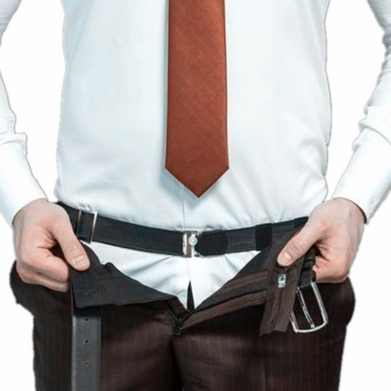 Men Women Adjustable Near Shirt Stay Tuck It   Belt   Shirts Stay Shirt Tucked Best Sale-WT