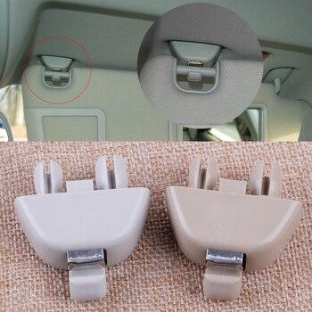 CITALL салона автомобиля Серый Бежевый солнцезащитный козырек клип крюк крепление 4F0857561 Подходит для Audi A6 C6 2004 2007 2008 2009 2010 2011