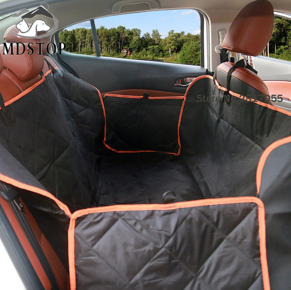 Car Seat Protector For Dogs >> Nonslip Quilted Pet Hammock Waterproof Rear Back Seat ...